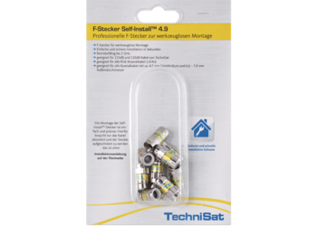 F-Stecker Self-Install™ Pack 4.9