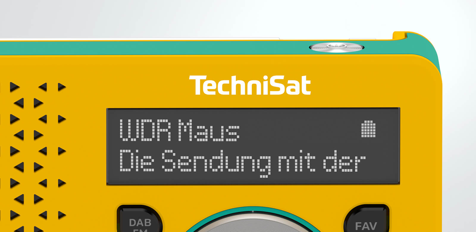 Hochwertiges OLED-Display.