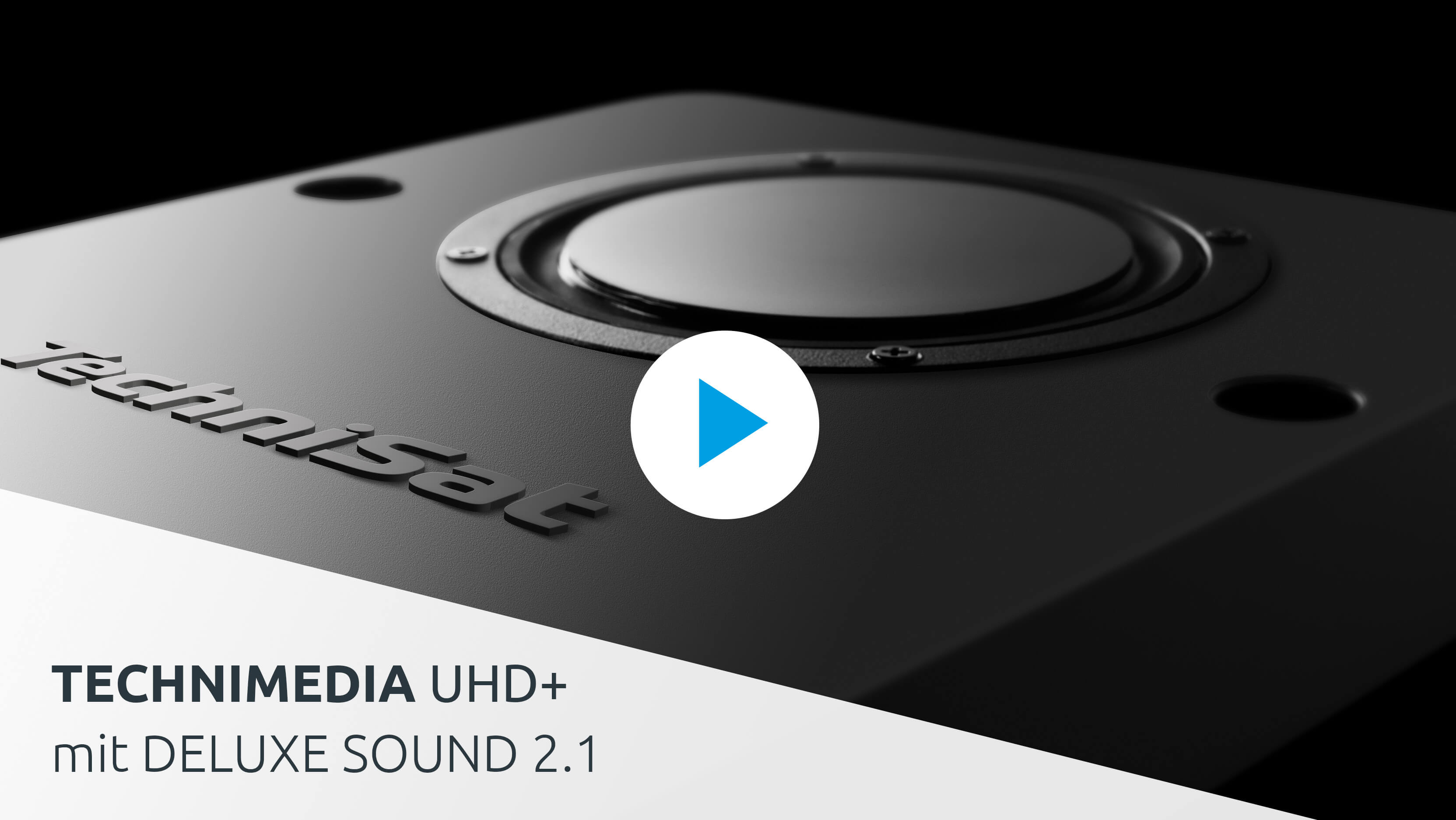 Video: TechniMedia UHD+ mit DELUXE SOUND 2.1.
