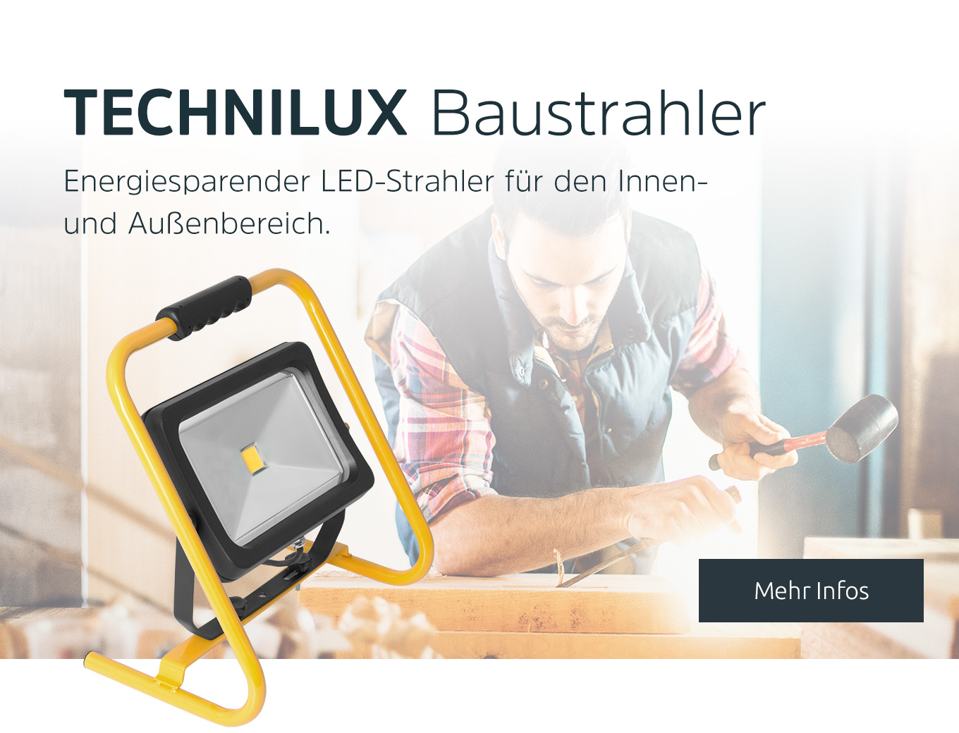 TECHNILUX LED Baustrahler